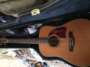 Acoustic Ibanez Guitar (With Case)