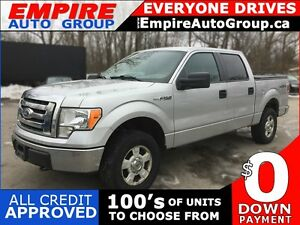 2010 FORD F-150 CREW CAB PICKUP * 4WD * POWER GROUP