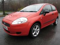 06/06 FIAT PUNTO 1.2 ACTIVE 3DR HATCH IN MET ORANGE WITH ONLY 46,000 MILES