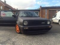Vw golf gti mk2 vr6 conversion
