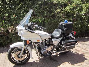 Classic Kawasaki KZ1000 Police Motorcycle