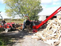 Turn Your valuable Logs into Really Valuable Firewood