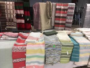 Catalognes et couvertures tissées