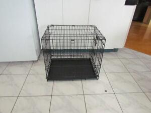 Cage ANIMAUX Petit chien, en métal tres solide, pliable 24x20x17