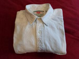 Levi's White Heavy Cotton Shirt - Original