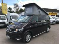 VOLKSWAGEN TRANSPORTER CAMPER T28 TDI P-V HIGHLINE 4 Berth Camper Purple Manual
