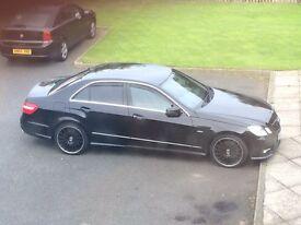 Mercedes E350- FSH- low miles- AMG