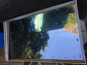 Aluminum framed thermal windows