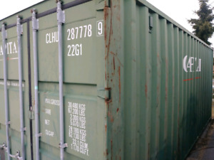 20ft shipping container Excellent condition - Free delivery