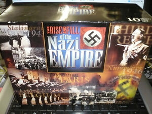 The Rise and Fall of the Nazi Empire 10 VHS box set