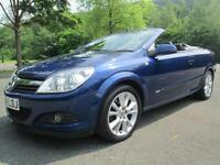 08/58 VAUXHALL ASTRA TWINTOP DESIGN 1.9 CDTI 150 BHP IN BLUE