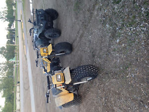 Trikes to trade ,quad to sell