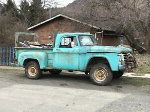 1964 Dodge Power Wagon Step Side 4x4