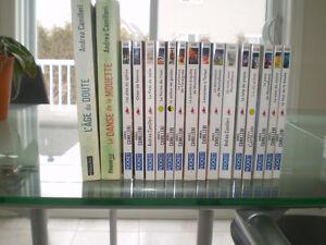 Livres et DVD Montalbano + extras