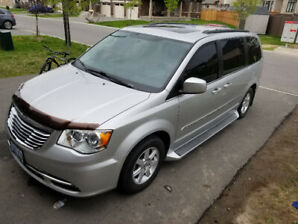2012 Town and Country Van only 116KM