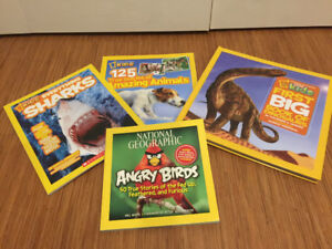4 Kid's National Geographic Books