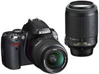Nikon D40X DSLR with 2 Lens