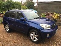 2005 05 TOYOTA RAV4 2.0 D-4D XT5 TURBO DIESEL 5 SPEED MANUAL RAV 4