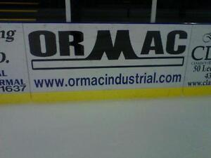 Advertising Space Available 8th Hussars Sports Center Sussex nb