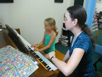 Piano & Violin Lessons