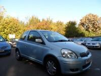 Toyota Yaris 1.0 VVT-i Blue 72000 MILES 05 PLATE ALLOYS CD PLAYER