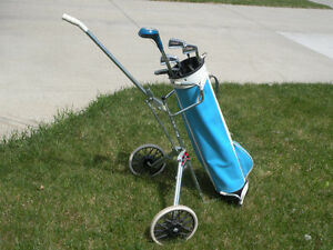 Ladies Golf Club Set- Bag, Clubs & Cart- Great Deal!