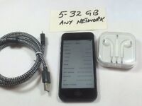 Apple iPhone 5 32GB Black in pristine condition unlocked 3341
