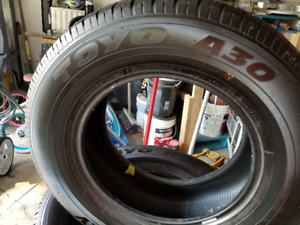 265/65/17R  TOYO A30 TIRES / OPEN COUNTRY  / NEW