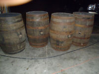 Rustic Whiskey / Wine Barrel Rentals - Perfect for Weddings