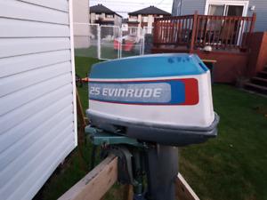 Hors bord Evinrude  25 hp
