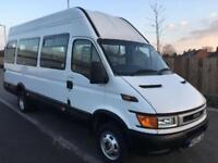 IVECO DAILY 50C13 2.8 TD (2005) EXTRA H/ROOF XLWB MINIBUS (COIF) TWIN WHEELS