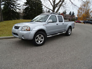 2002 Nissan Frontier SuperCharged SE 4X4 Crew Cab