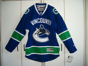 NEW CANUCK'S JERSEY