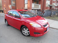 2010 TOYOTA MATRIX , LOADED , LOW MILEAGE , CLEAN CAR !!! City of Toronto Toronto (GTA) Preview
