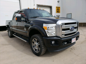 2015 Ford F250 Platinum