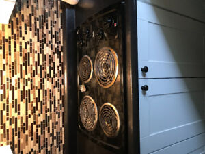 Wall oven and cook top