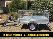 NEW Galvanized Box Trailers 12 Months Rego Tipper From only $898 Newcastle Newcastle Area Preview