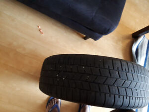 1 summer tire for sale. 215 55 R17