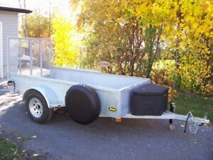 """5x10'2"""" hot dipped galvanized trailer. Pick it up today"""