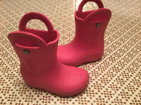 Girl's crocs boots size 12