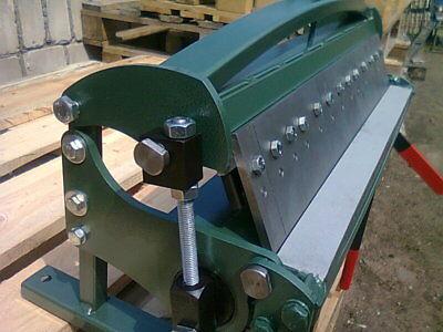 Sheet Metal Box Pan Folder Bender Bending Machine 610 Mm 24 1.0mm