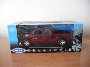 2001 - 2004 DODGE RAM 1/18 scale diecast by WELLY