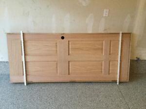 """32"""" Left hand solid oak 6 panel door"""