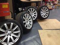 Audi Q7 genuine 20 inch alloys
