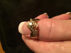 Size 8 /14 karat yellow gold rings