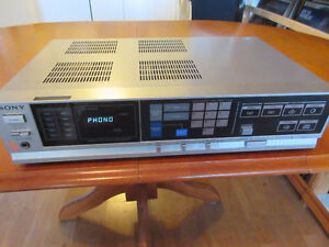 Sony Stereo Receiver with Phono Input, with or without Turntable