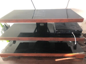 Tv stand for sale looks brand new
