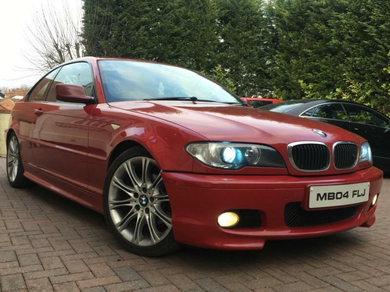 bmw 320 2 0td auto 2004 cd m sport in exhall west midlands gumtree. Black Bedroom Furniture Sets. Home Design Ideas