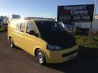 2011 Volkswagen T5 Transporter in yellow with air con 2.0TDi ( 102PS ) LWB T30