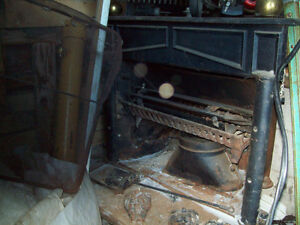 2 wood stoves fire places